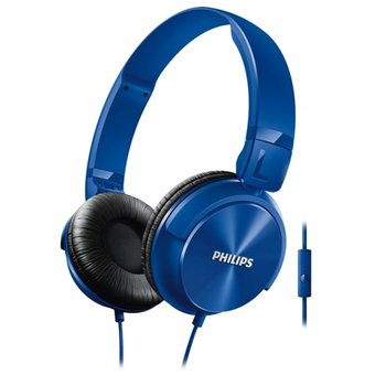 Audifono Dj Philips con Micrófono Integrado – SHL3065BL – Azul-electrodomesticos jared