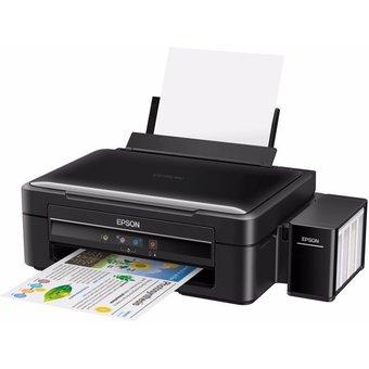 Impresora Multifuncional Tinta Continua Epson Ecotank L380 -Negro electrodomesticos jared 1