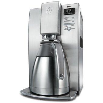 Cafetera térmica programable de 10 tazas Oster® BVSTDC4411-053 – Plateada electrodomesticos Jared