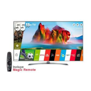 Televisor LG smart Super UHD 55″ 55UJ7500