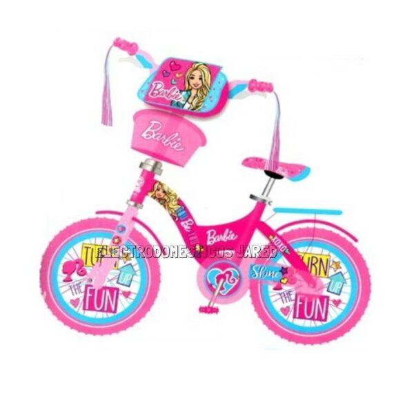 Bicicleta barbie aro 20 BB-20-18Electrodomesticos jared